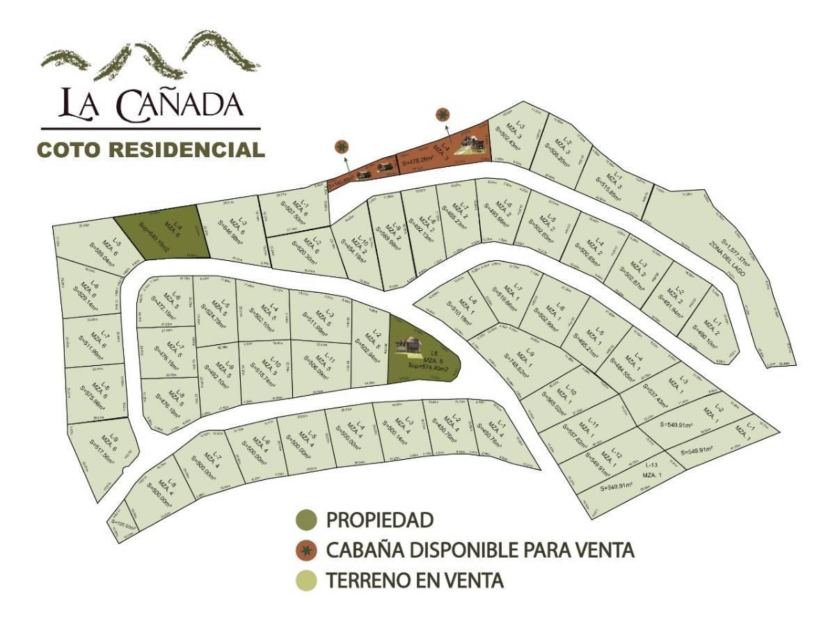 Terrenos en Venta La Cañada Coto Residencial en Mazamitla